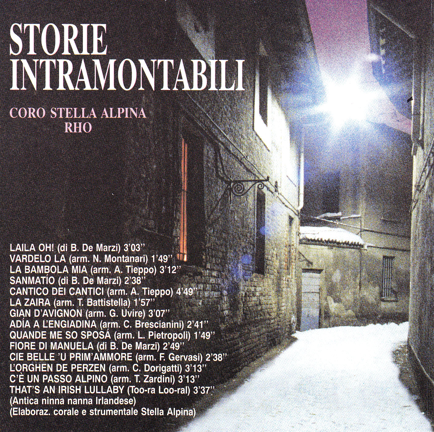 cd storie intramontabili retro