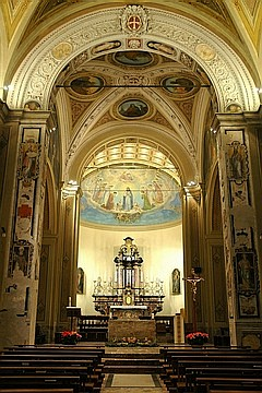 navata parrocchia stabio